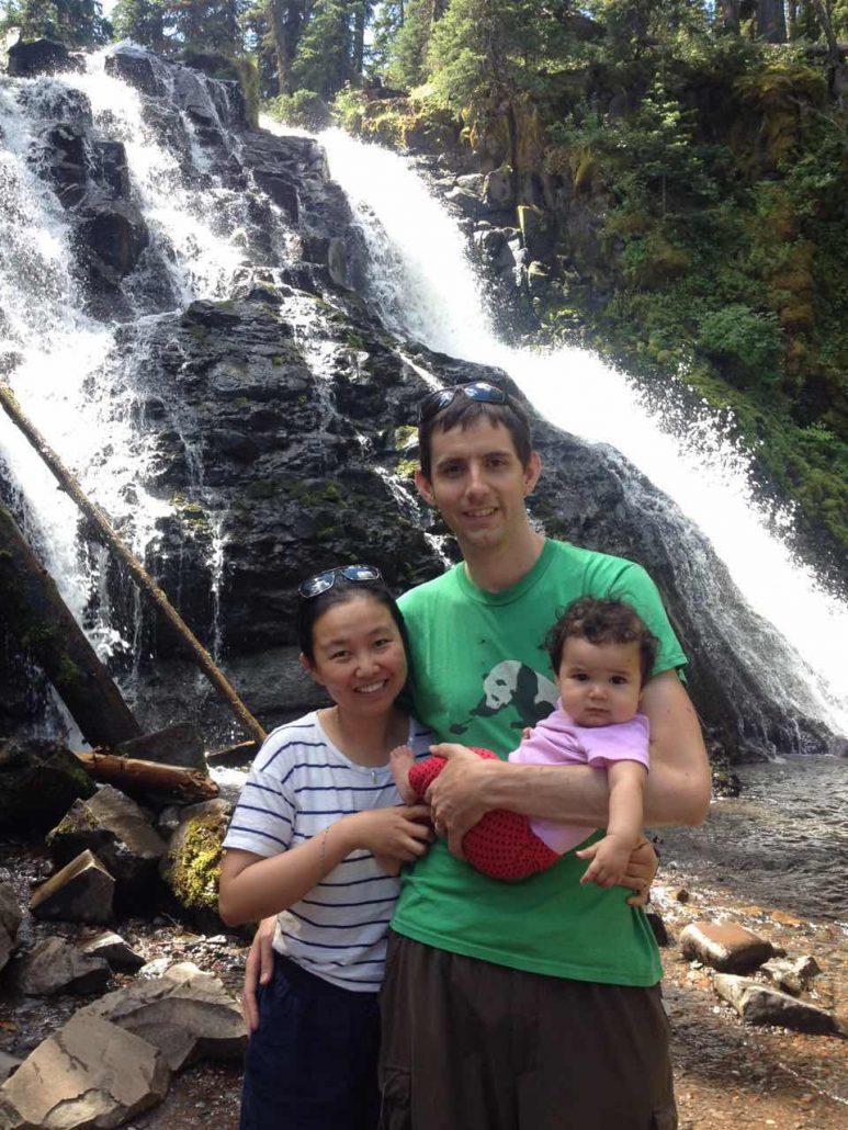 中美混血家庭