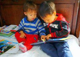 混血宝宝看书