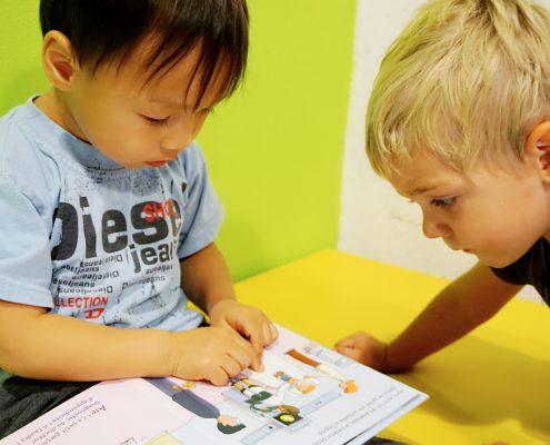 混血宝宝的语言学习