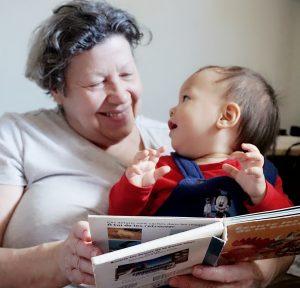 法国奶奶和二宝
