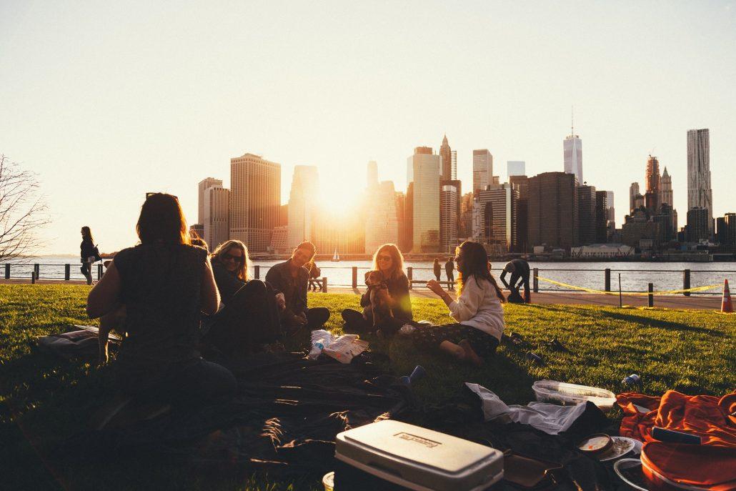 纽约的生活