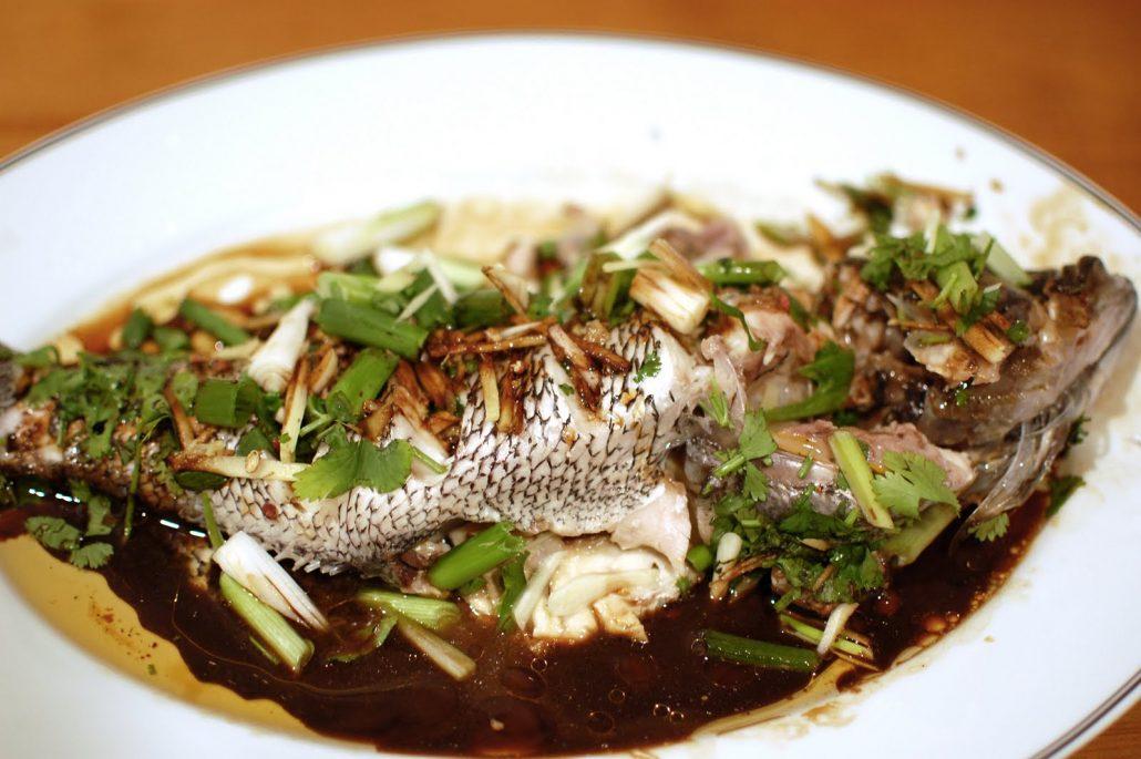 英国超市常见的海鲈鱼